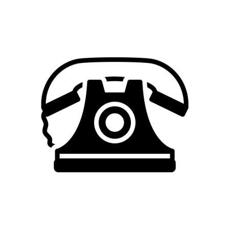 Icon for telephone,communication