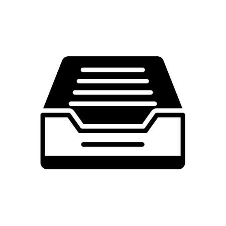Icon for mailbox tray,letter drop