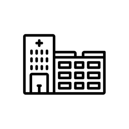 Icon for hospital,clinic