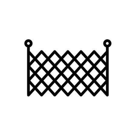 Icon for fence,barricade