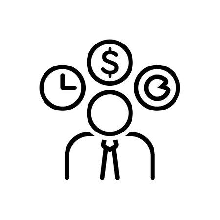 Icon for entrepreneur,dealmaker