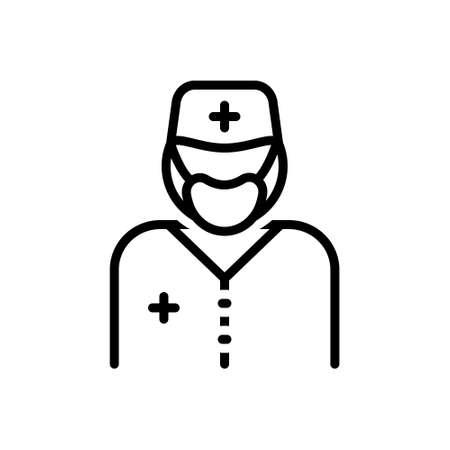 Icon for surgeon,sawbones
