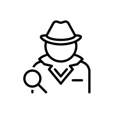 Icon for detective,investigator