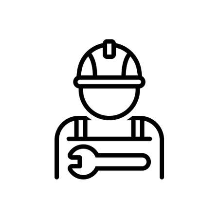 Icon for worker,employeer