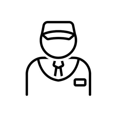 Icon for salesman, vendor 向量圖像