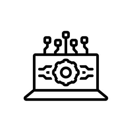 Icon for api interface, api, interface 向量圖像