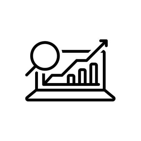 Icon for analytics,data