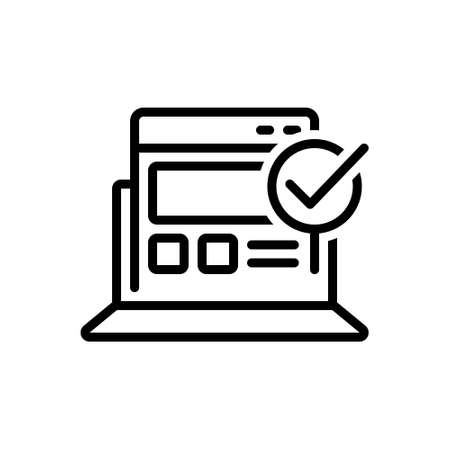 Icon for usability control,usability,control
