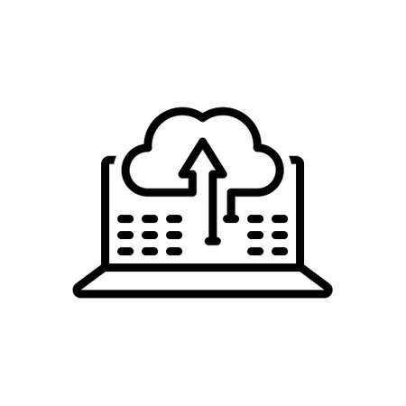 Icon for sync of data information, transfer