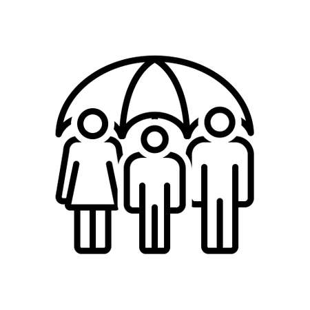Icon for life insurance,insurance