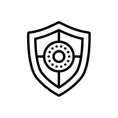 Icon for shield,safeguard