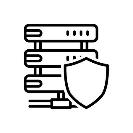 Icon for sever shield,safeguard,aegis
