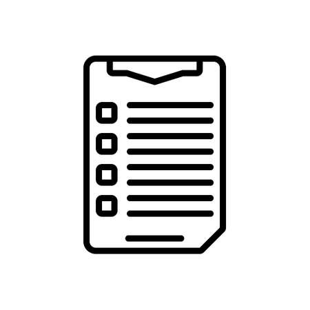 Icon for list,catalog,index