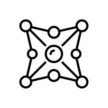 Icon for networking,network 向量圖像