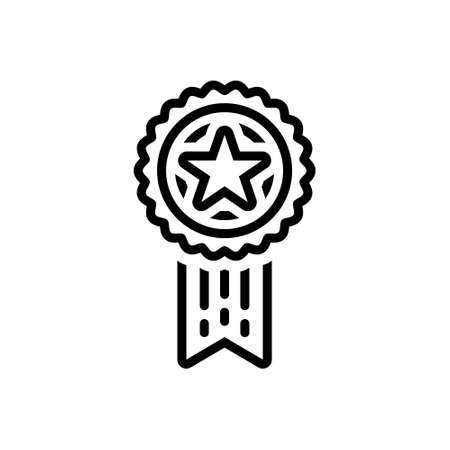 Icon for quality,transcendence