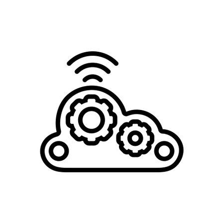 Icon for cloud computing wifi,cloud