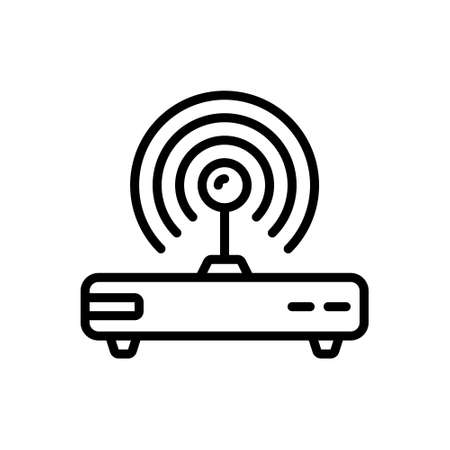 Icon for wifi,router,electronic