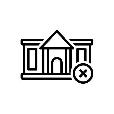 Icon for abandon,relinquish Vektoros illusztráció