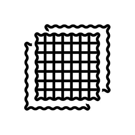 Icon for fabric,cloth