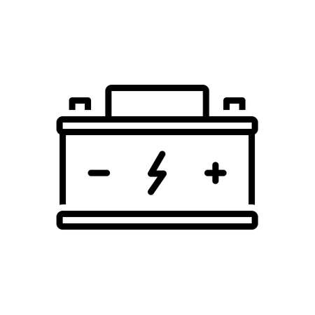Icon for battery,indicator
