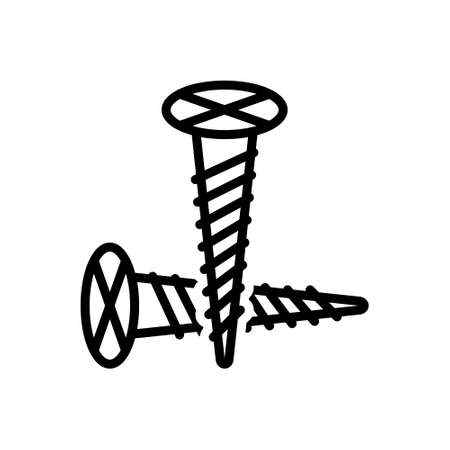 Icon for screw,bolt