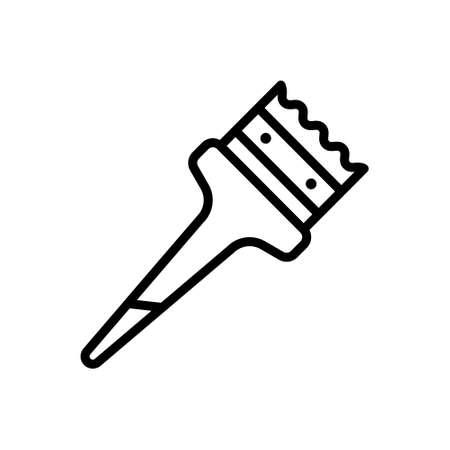 Icon for paint brush,paint Illustration