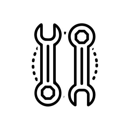 Icon for wrench,fix Illustration