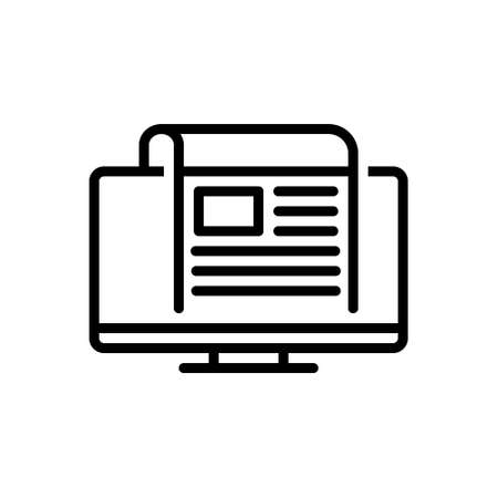 Icon for news,story