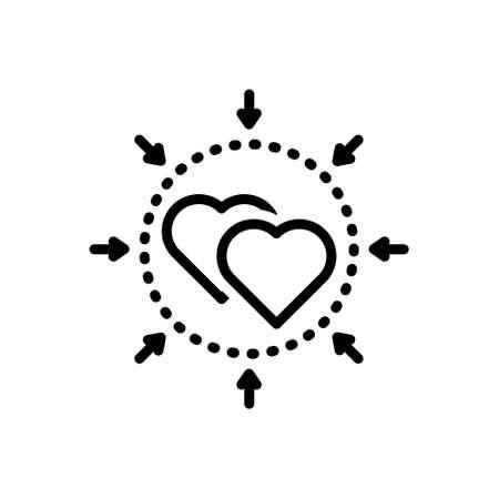 Icon for incorporate,unified Ilustração Vetorial
