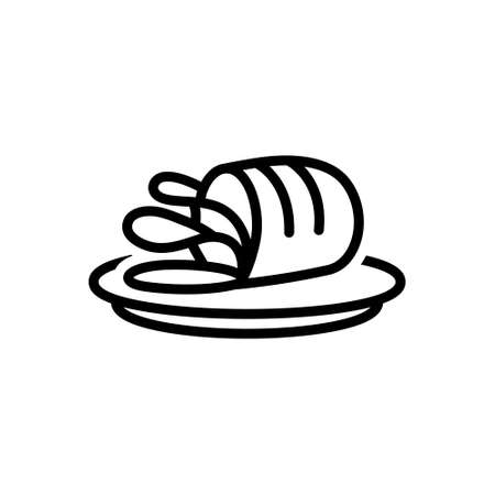 Icon for meat,flesh