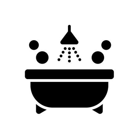 Icon for bathtub,bathroom