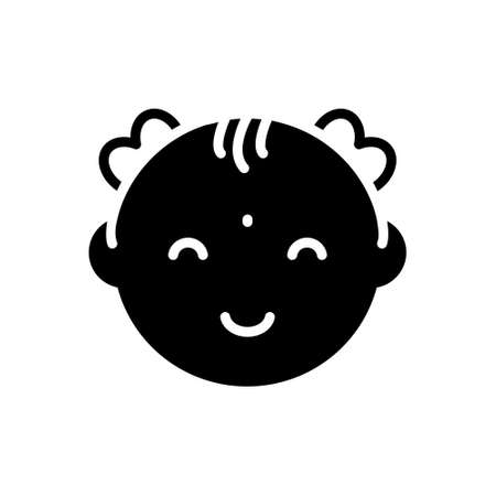 Icon for baby Vector Illustration
