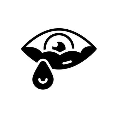 Icon for tear,teardrop