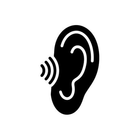 Icon for hear,hark,listen Illustration