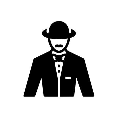Icon for gentleman,mynheer