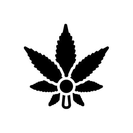 Icon for cannabis,hemp