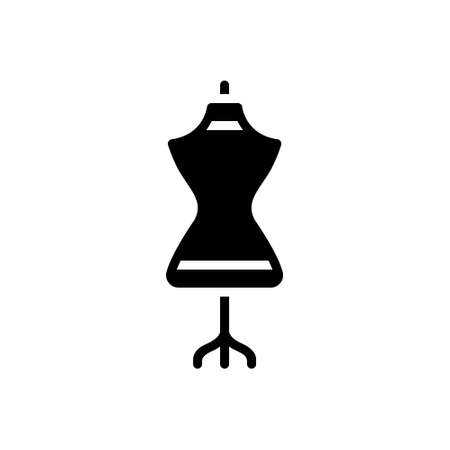 Icon for dress form,dress,mannequin Illustration