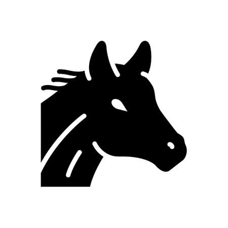 Icon for horse running
