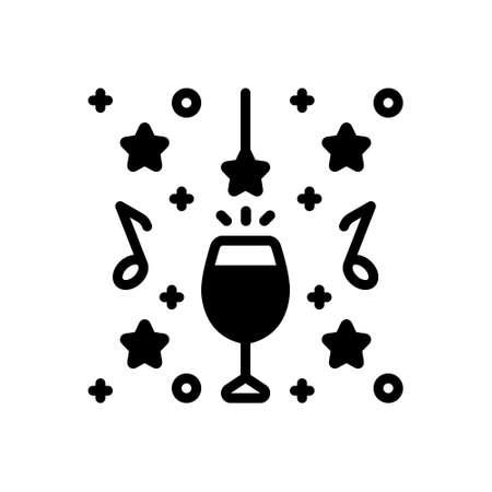 Icon for party celebration Illustration