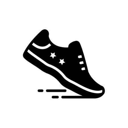 Icon for running shoe