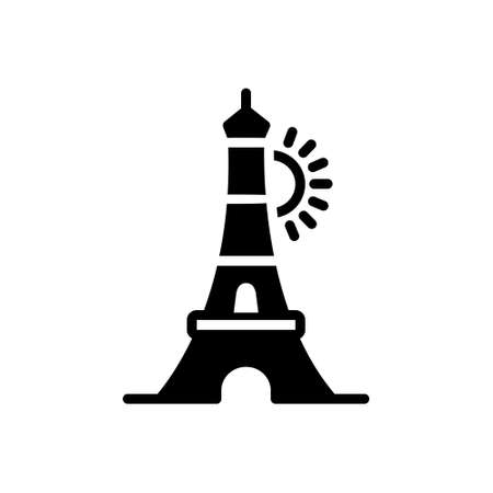 Icon for eiffel tower