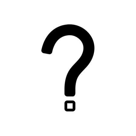 Icon for question mark Illustration