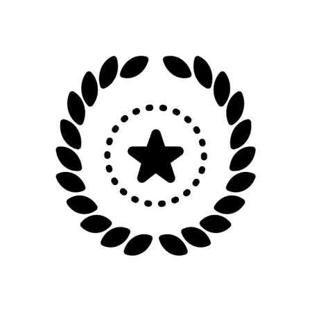 Icon for wreath,decoration Illustration