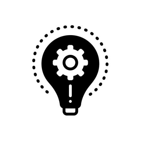 Icon for realize,comprehend Illustration