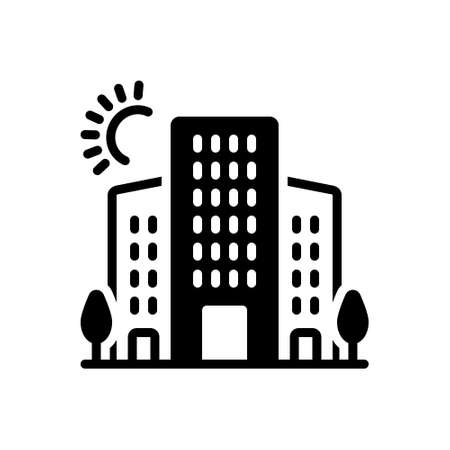 Icon for urban,oppidan Illustration