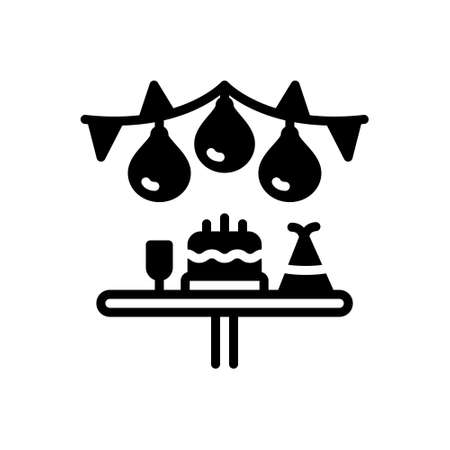 Icon for party,birthday