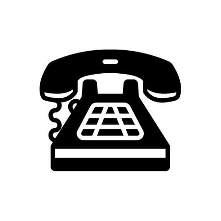 Icon for telephone,call