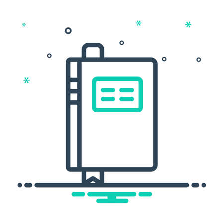 Icon for book,notebook