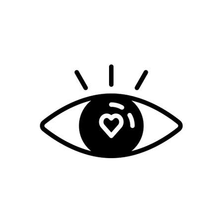Icon for attractive,tempting Vetores