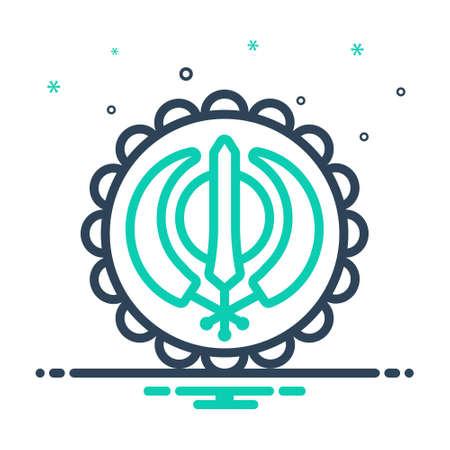 Icon for gurupurab,guru nanak